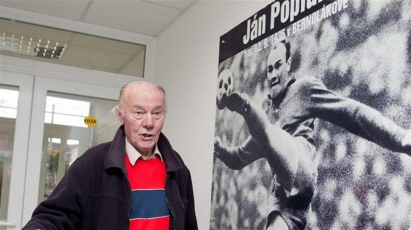 Ján Popluhár, legenda slovenského futbalu.