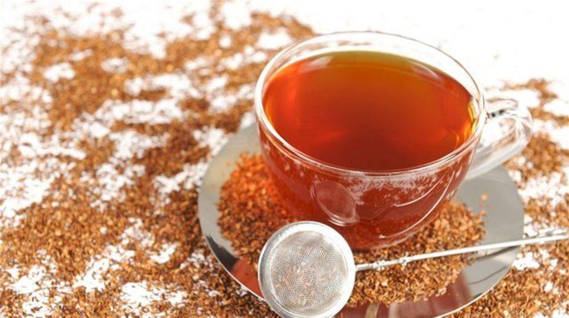 rooibos - čaj - vývar - výluh - príprava