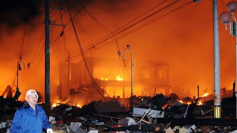 Japonsko, zemetrasenie