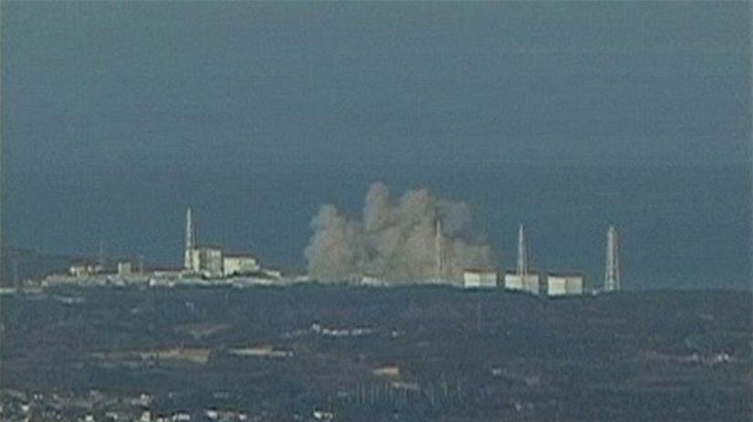 Japonsko, jadrová elektráreň, výbuch