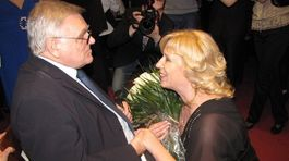 Stano Dančiak a Iveta Radičová