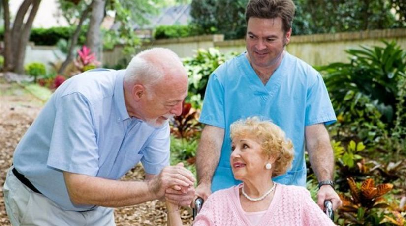Parkinsonova choroba, pacient, lekár, manželia,...