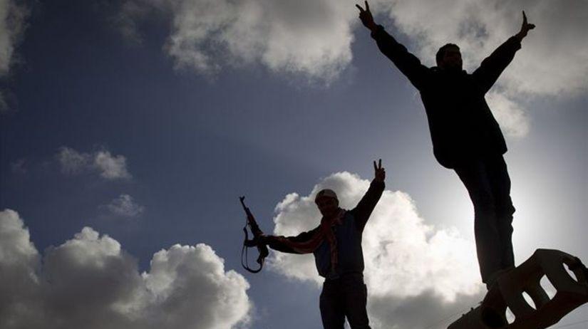 Líbya, útok spojencov, Benghází