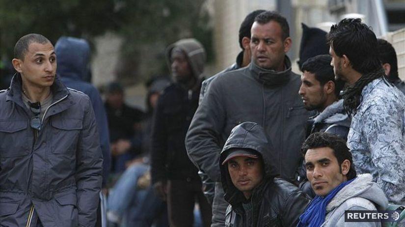 Lampedusa, Taliansko, utečenci