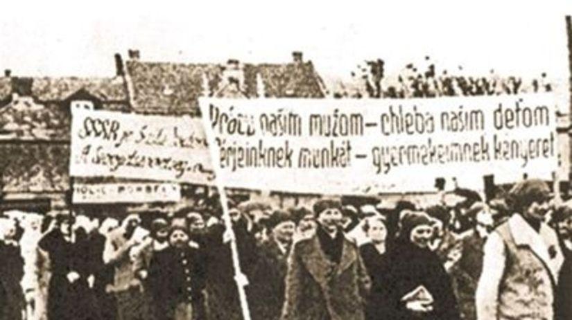 Pochod, Košice