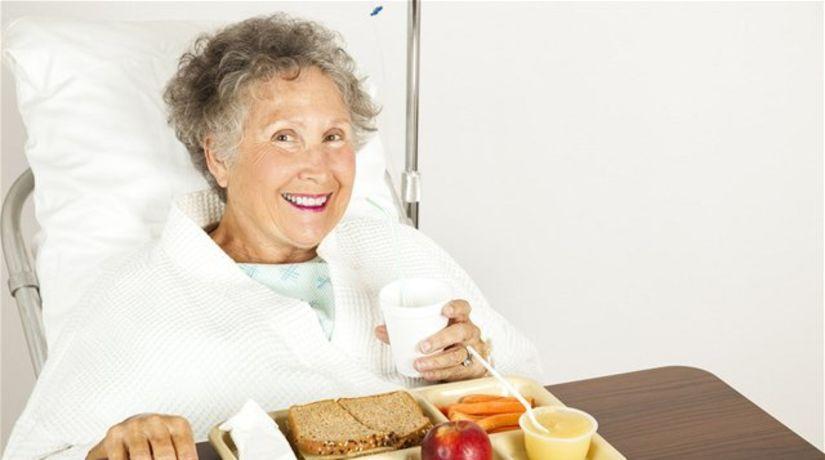 výživa - pacientka - podvýživa - stravovanie v...