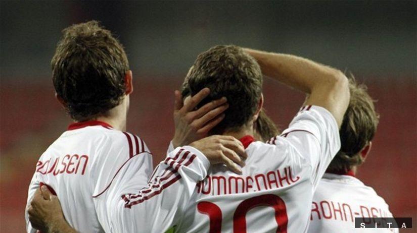 Dánsko gól