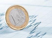 Mena, peniaze, euro, graf