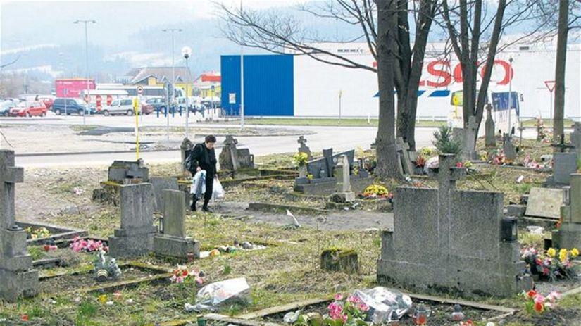 cintorín v Turzovke