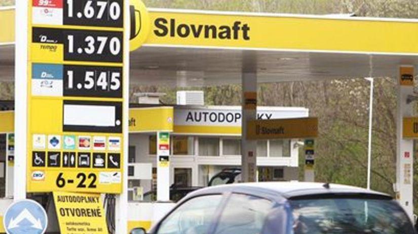 Benzín, nafta, ceny