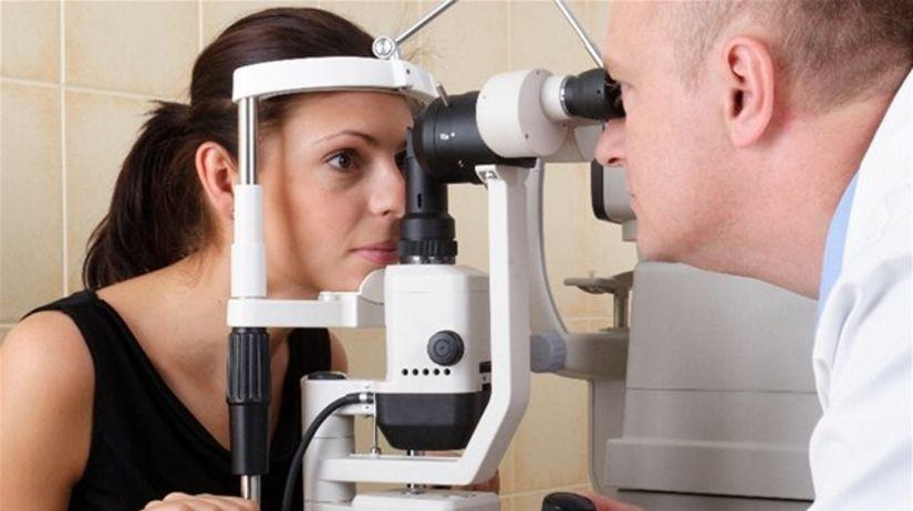 oko, vyšetrenie, očný lekár, oftalmológ,...