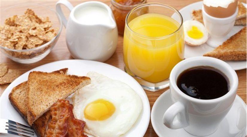raňajky - proteíny - bielkoviny - správna výživa