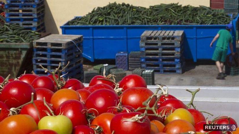 zelenina, rajčina, paradajka, uhorka
