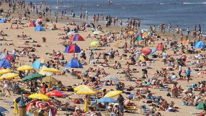 leto, pláž, more, dovolenka, slnečník,...