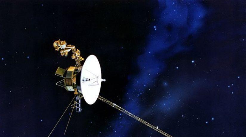 Voyager, sonda, vesmír