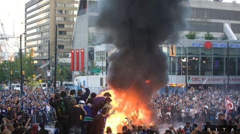 Vancouver nepokoje