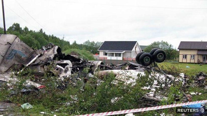 lietadlo, Rusko, havária