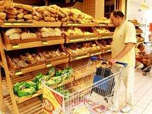 chlieb, pečivo, nákup, potraviny