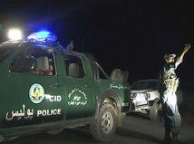 útok, Taliban, Afganistan, policajt