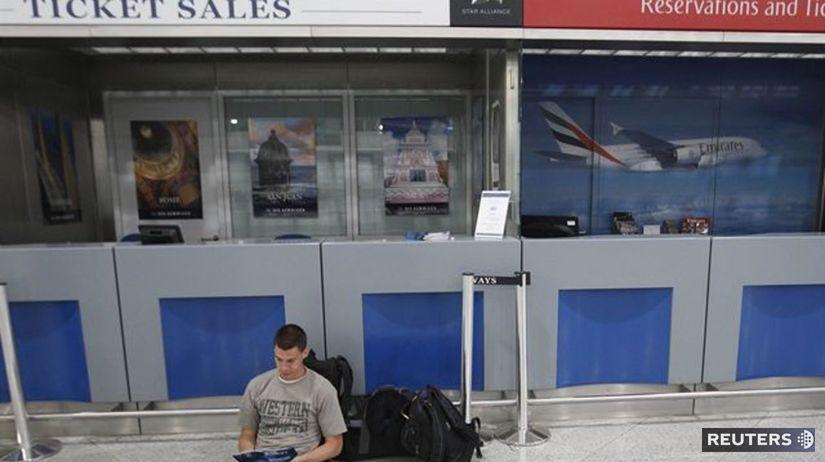Grécko, štrajk, demonštrácia, letisko