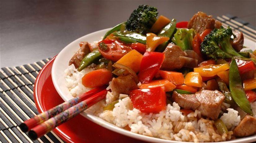 čína, čínske jedlo, strava, paličky, ázijská...