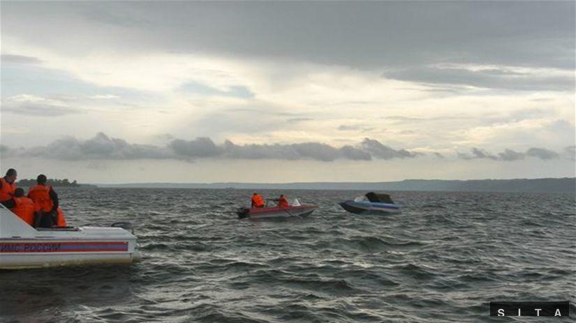 loď, pátranie, Volga, člny, voda, rieka