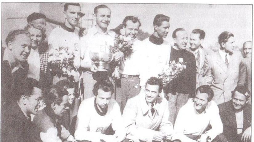 basketbal 1946 archívna