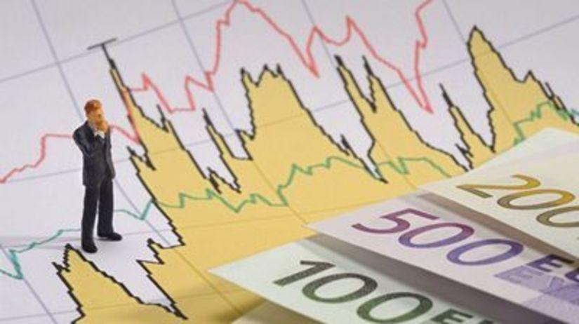 Euro, peniaze, graf