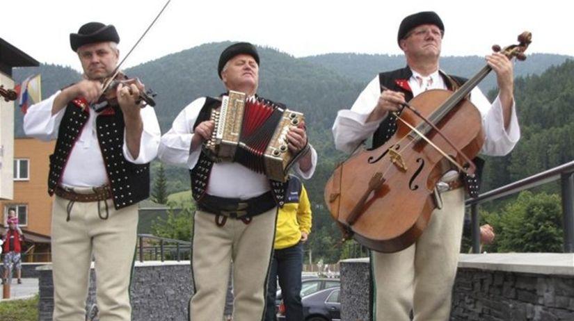 Terchová, Jánošíkove dni, folklór, festival
