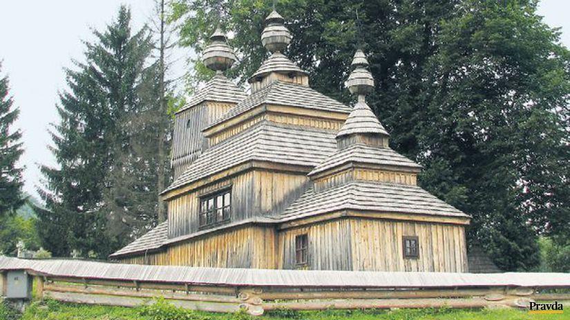 Kostolík v Bodružali