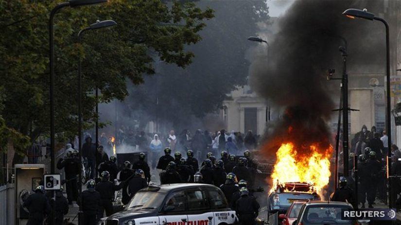 Londýn, nepokoje
