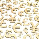 Peniaze, dolár, jen, euro, libra