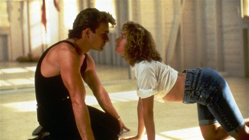 Jennifer Grey a Patrick Swayze - Hriešny tanec