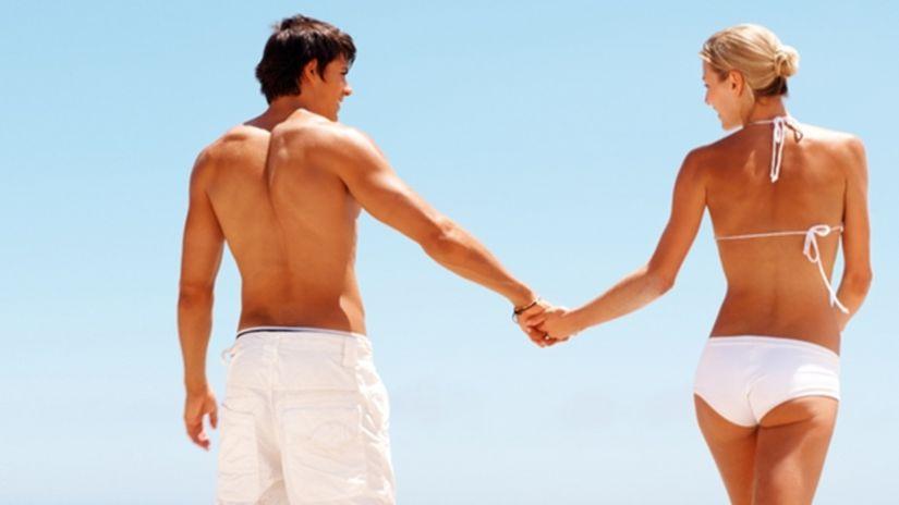 Dovolenka, leto, cestovanie, dvojica, láska,