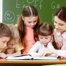 deti, škola, učenie, učiteľka, žiaci