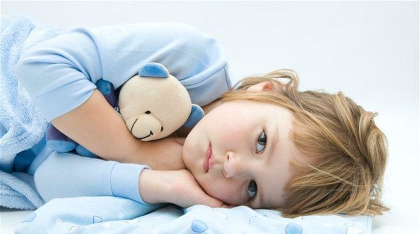 spánok, nespavosť, spálňa, posteľ, dieťa, únava
