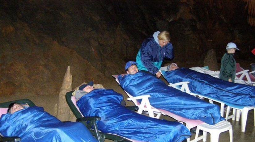 jaskyňa, speleoterapia, Štós