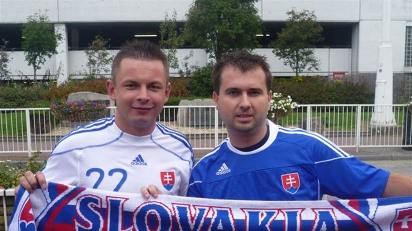 futbal Slovensko fanúšikovia