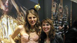 Barbora Dudinská s Anna Dello Russo
