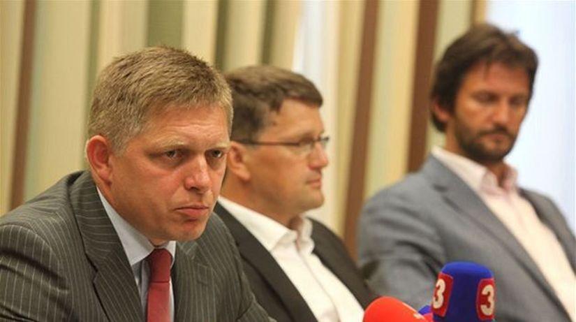 Fico, Maďarič, Kaliňák