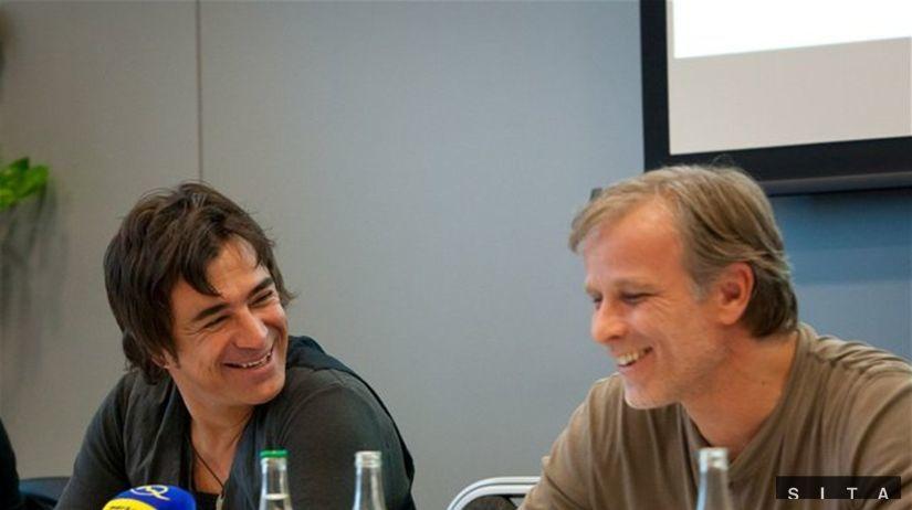 Sagvan Tofi (vľavo) a Lukáš Vaculík
