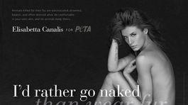 Elisabetta Canalis - PETA kampaň