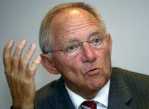 Nemecký minister financií,  Wolfgang Schäuble