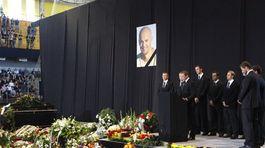 Demitra, Trenčín, pohreb, rozlúčka,