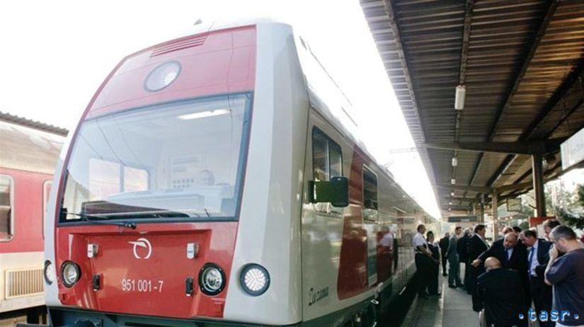 Poschodový vlak Zuzana