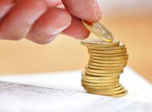 sporenie, vklad, mince, peniaze, úspory, pilier