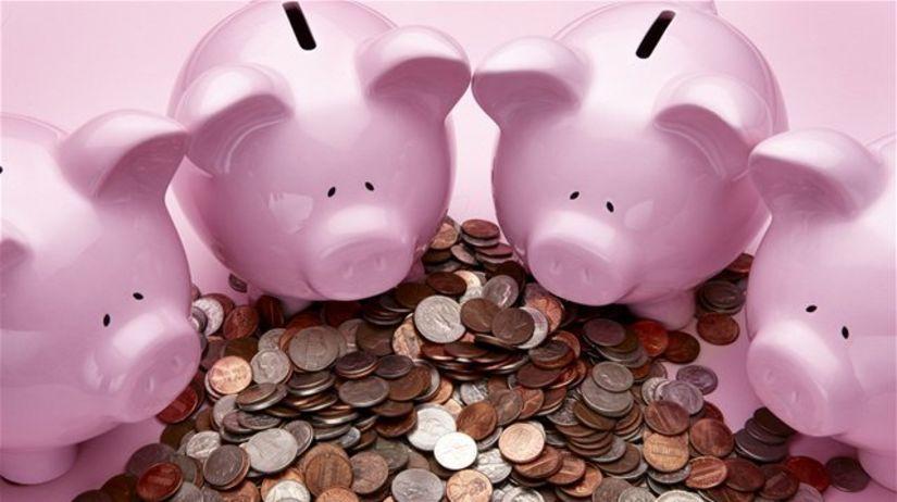 sporenie, prasiatko, mince, úspory, vklad,...