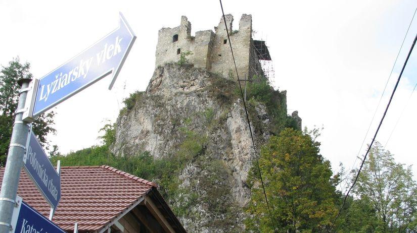 Lednica, Lednický hrad