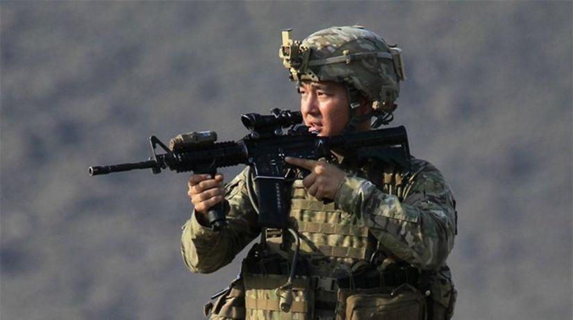 americký vojak, vojna, Afganistan, USA
