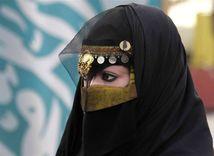 moslimka, Saudská Arábia, burka
